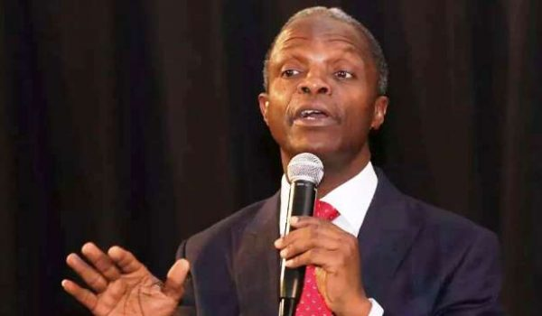 VP, Osinbajo Calls for Partnership between Private Sector and Nigerian Government